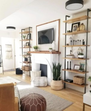 Inspiring living room wall design ideas 08