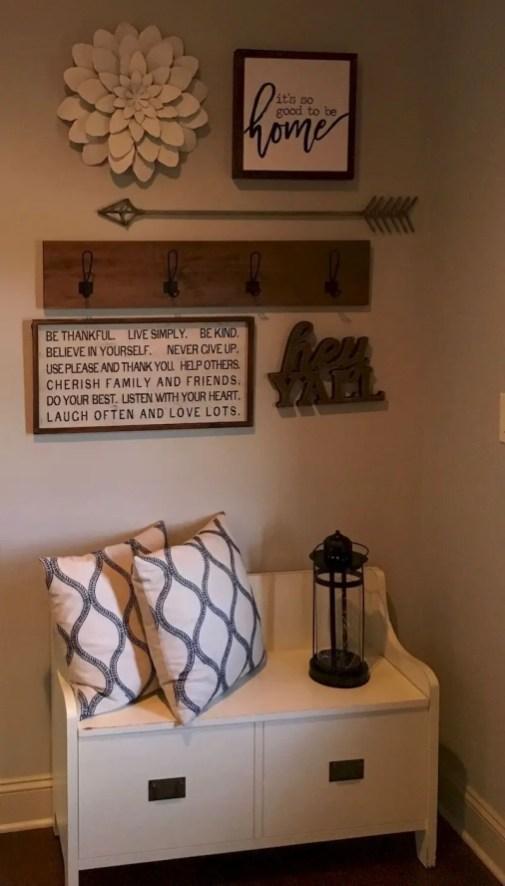 Inspiring living room wall design ideas 15