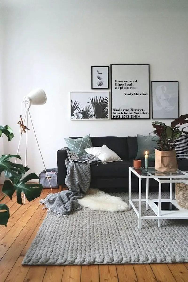 Inspiring living room wall design ideas 42
