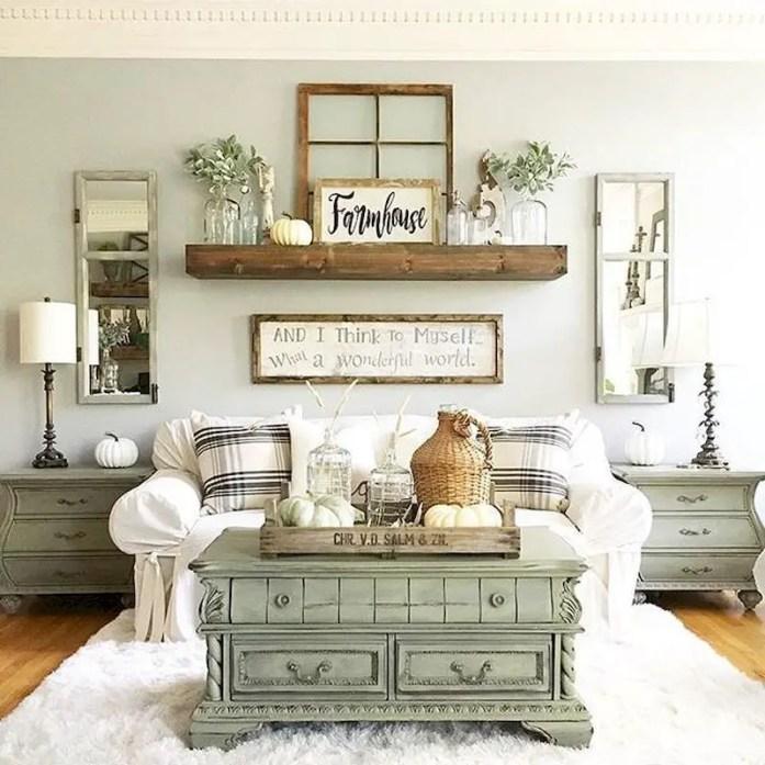 Inspiring living room wall design ideas 55