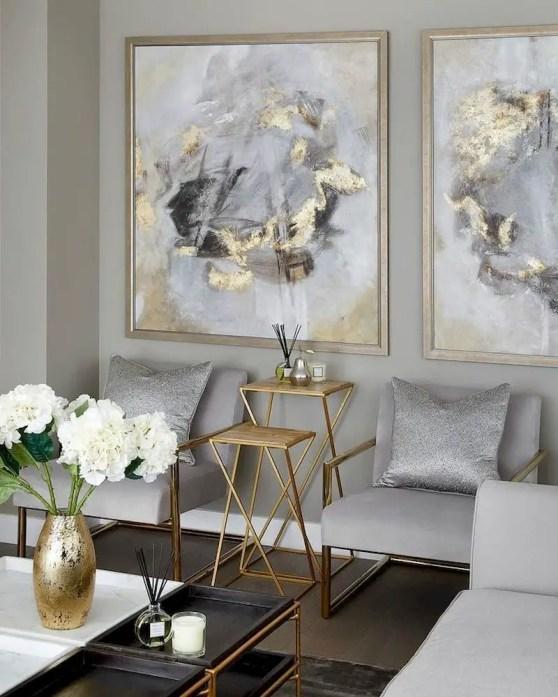 Inspiring living room wall design ideas 56