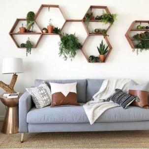 Inspiring living room wall design ideas 57