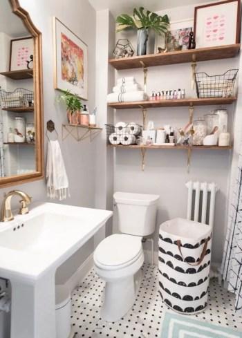 Inspiring small bathroom design ideas in apartment 34