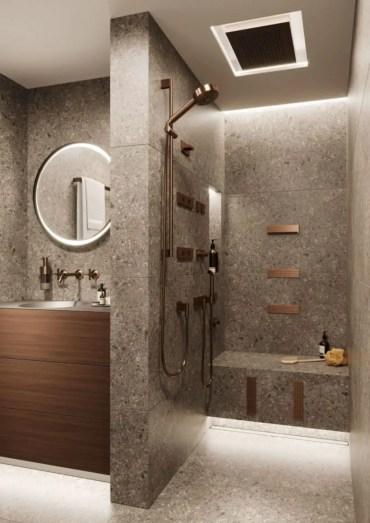 Inspiring small bathroom design ideas in apartment 48