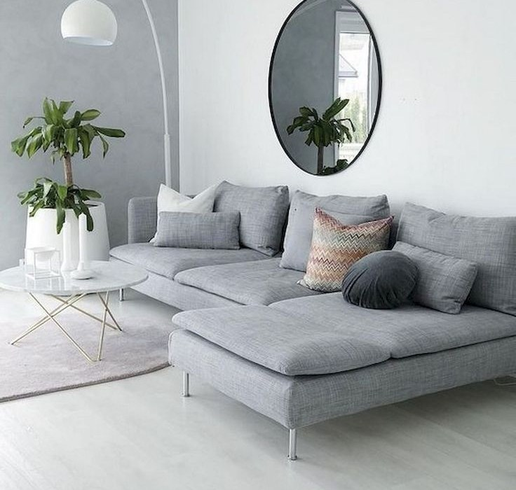 Livingroom design ideas to make look confortable for guest 39