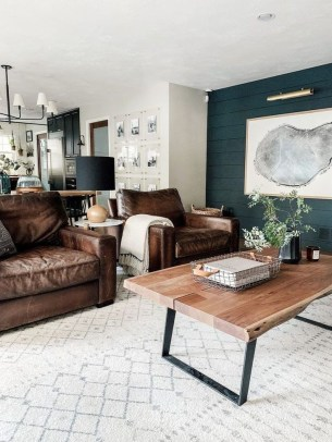 Livingroom design ideas to make look confortable for guest 43