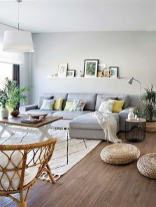 Livingroom design ideas to make look confortable for guest 47