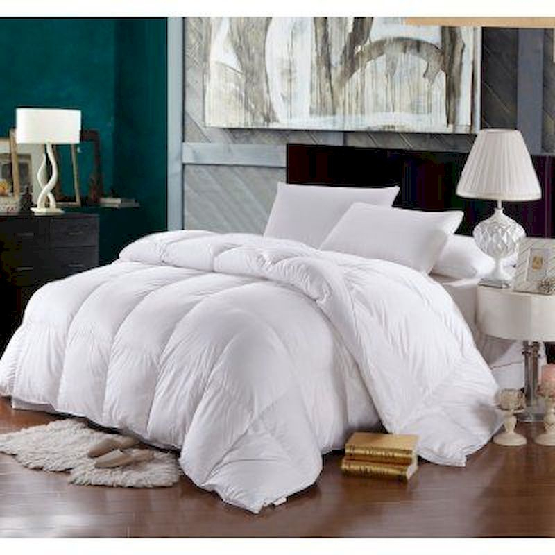 Luxury bedroom design ideas with goose feather 03