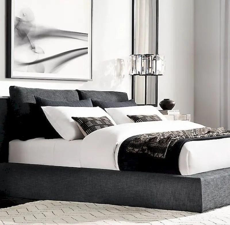 Luxury bedroom design ideas with goose feather 12