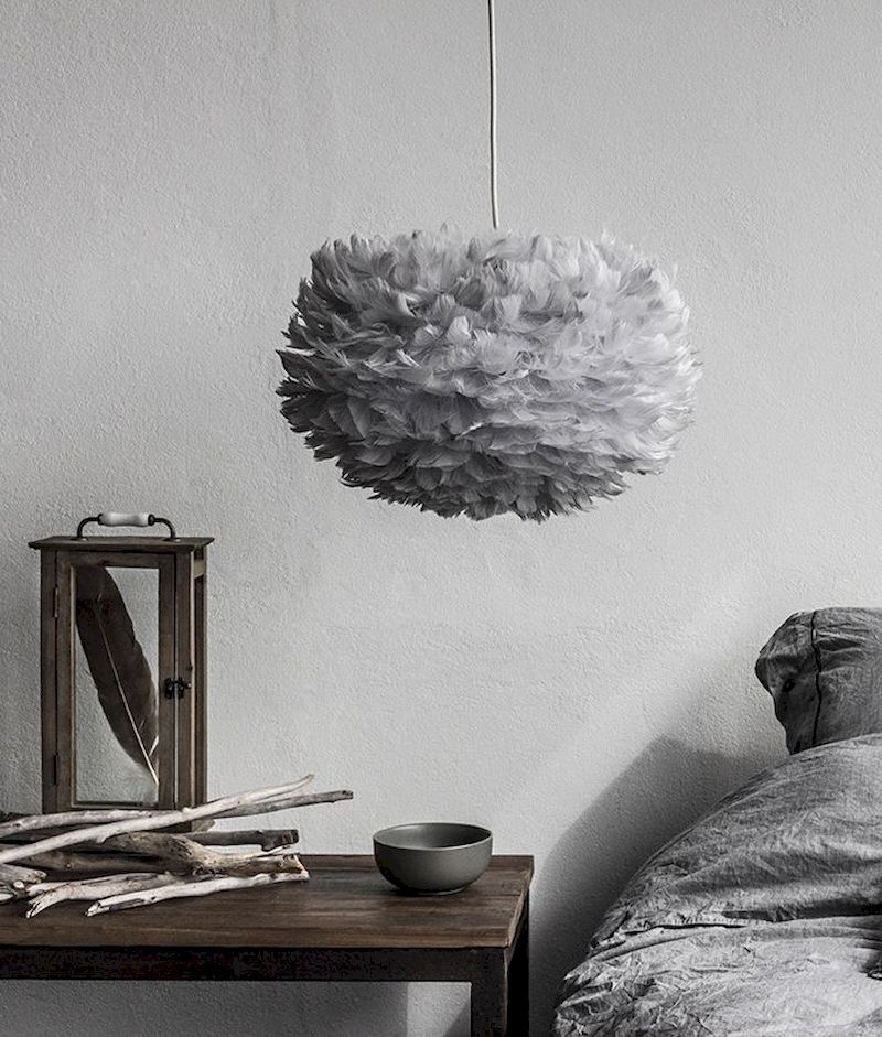 Luxury bedroom design ideas with goose feather 13