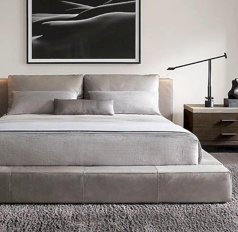 Luxury bedroom design ideas with goose feather 15