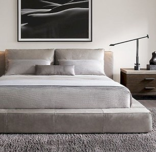 Luxury bedroom design ideas with goose feather 15