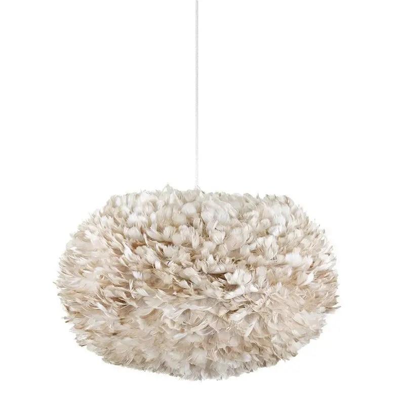 Luxury bedroom design ideas with goose feather 22