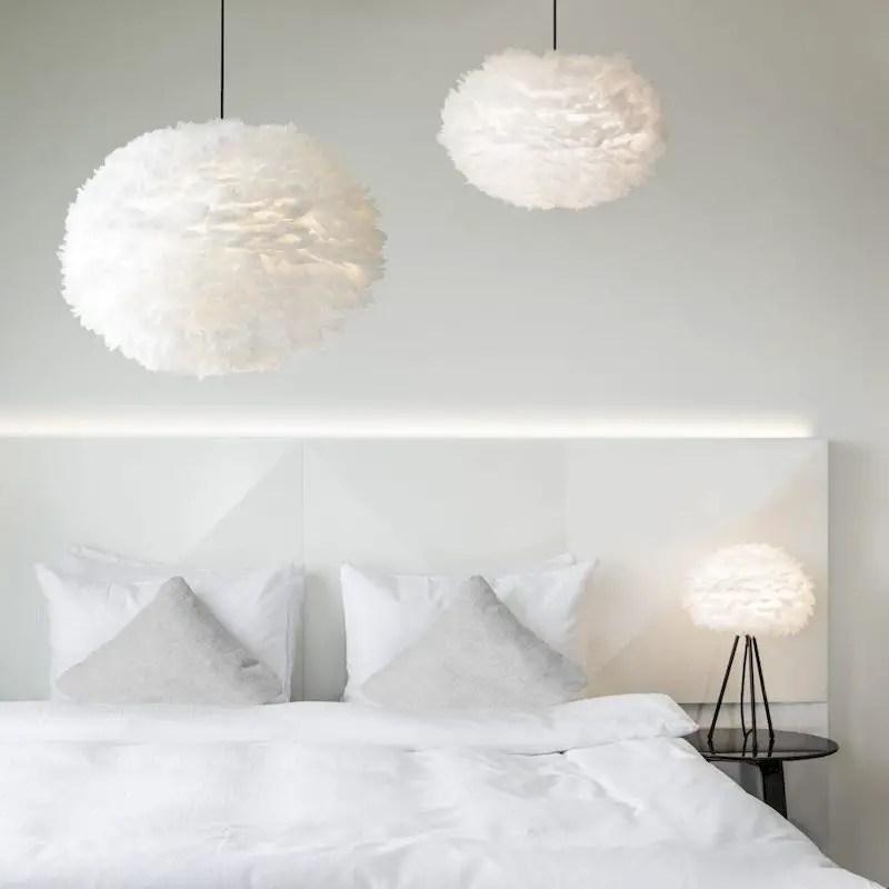 Luxury bedroom design ideas with goose feather 40