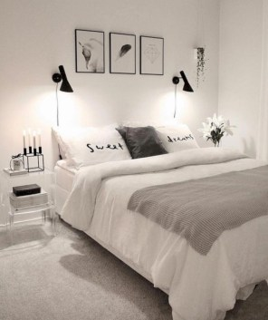 Romantic bedroom decorating ideas in your apartment 19