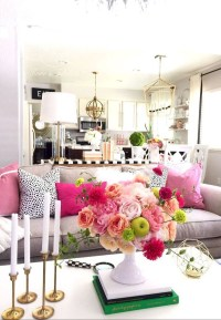 Spring living room design ideas that you can copy right now 13