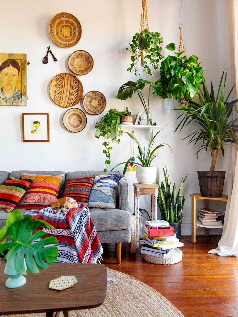 Spring living room design ideas that you can copy right now 14