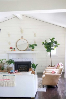 Spring living room design ideas that you can copy right now 25