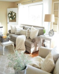Spring living room design ideas that you can copy right now 31