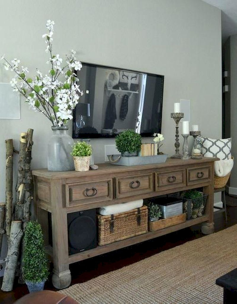 Spring living room design ideas that you can copy right now 33