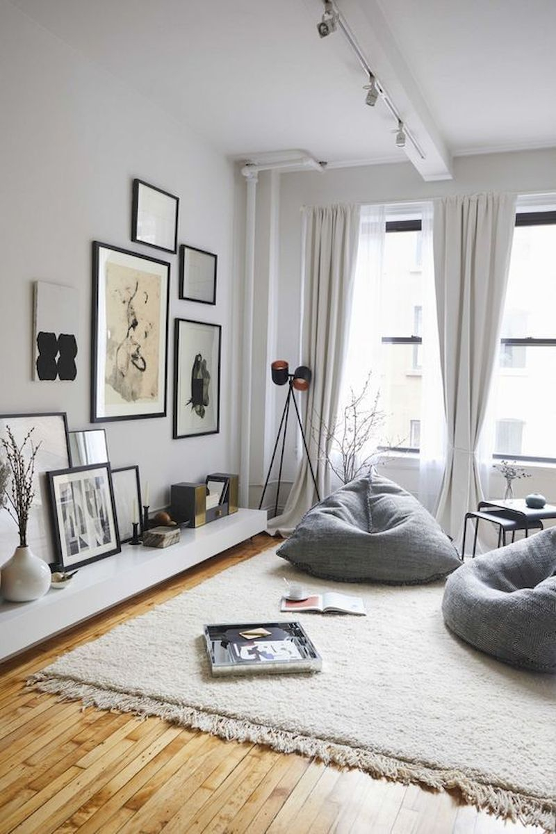 Spring living room design ideas that you can copy right now 37
