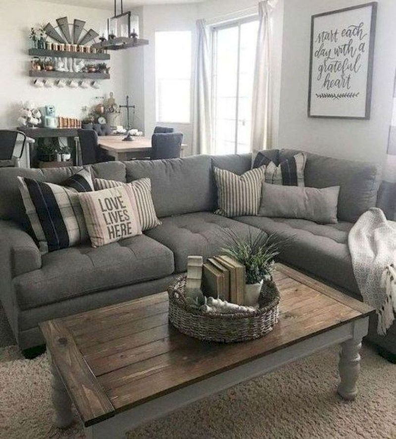 Spring living room design ideas that you can copy right now 41