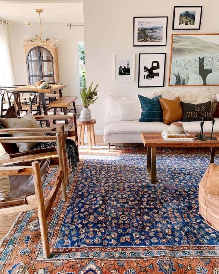 Spring living room design ideas that you can copy right now 42