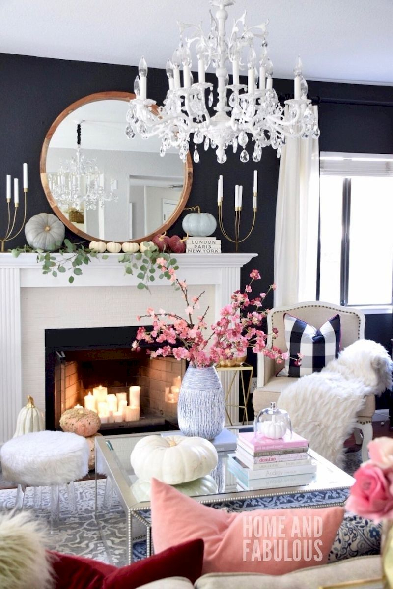 Spring living room design ideas that you can copy right now 51