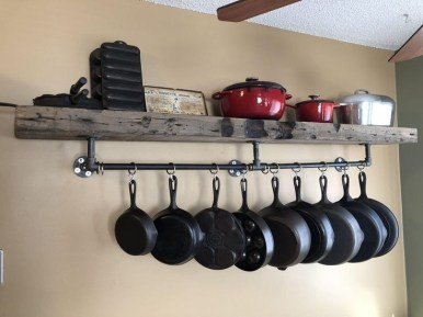 The best kitchen appliance storage rack design ideas 06