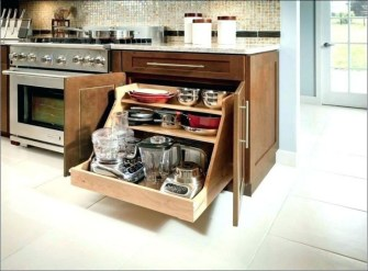 The best kitchen appliance storage rack design ideas 10