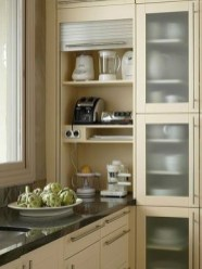 The best kitchen appliance storage rack design ideas 11