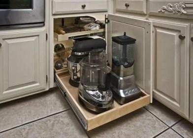 The best kitchen appliance storage rack design ideas 23