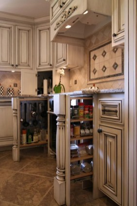 The best kitchen appliance storage rack design ideas 26