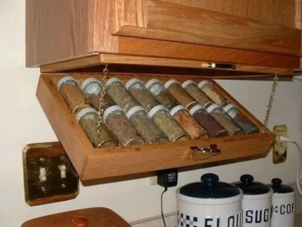 The best kitchen appliance storage rack design ideas 27