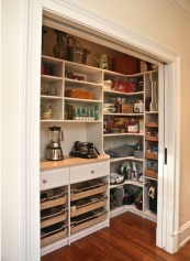 The best kitchen appliance storage rack design ideas 32