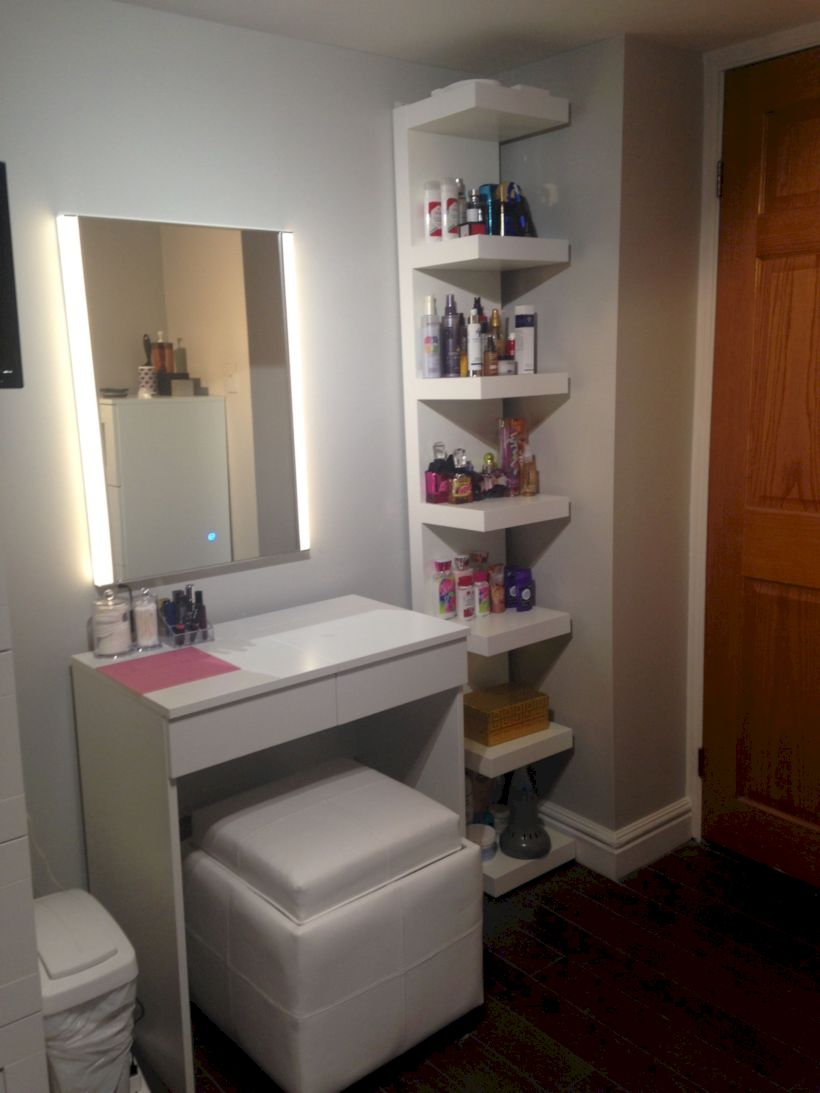 The best makeup table design ideas that you must copy right now 01