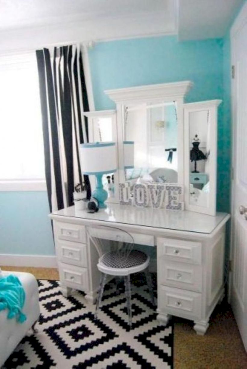 The best makeup table design ideas that you must copy right now 11