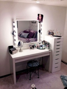The best makeup table design ideas that you must copy right now 18