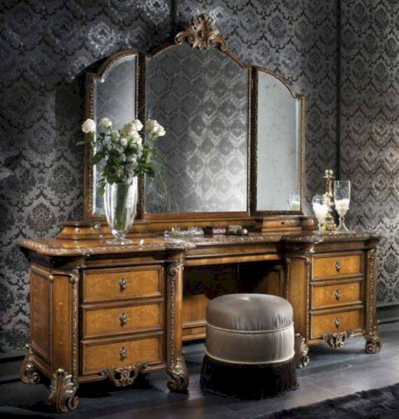 The best makeup table design ideas that you must copy right now 44