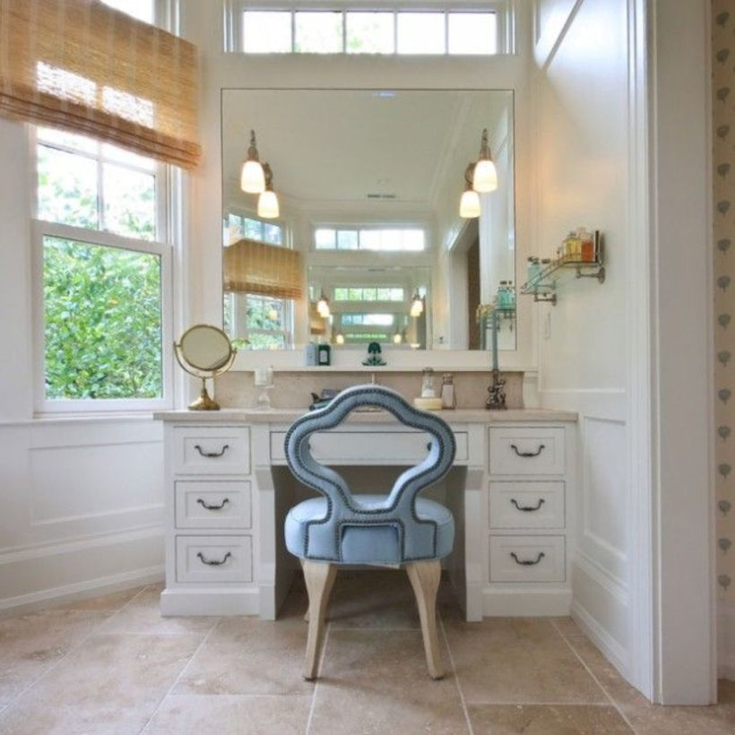 The best makeup table design ideas that you must copy right now 45