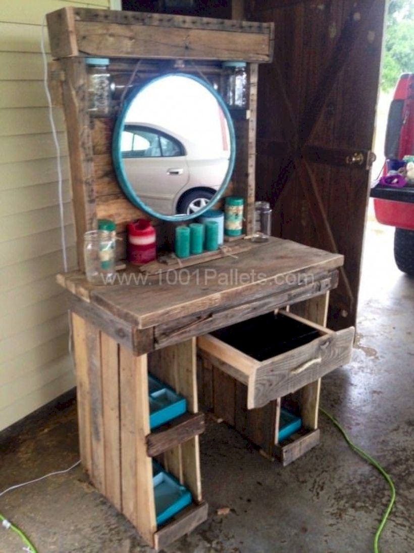 The best makeup table design ideas that you must copy right now 46