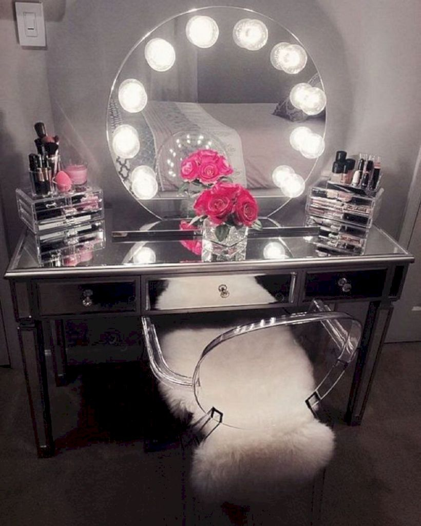 The best makeup table design ideas that you must copy right now 48