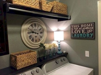 Trend small laundry room design ideas that you can try 09