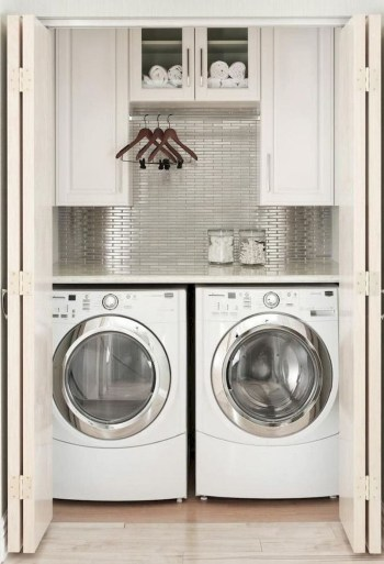 Trend small laundry room design ideas that you can try 11