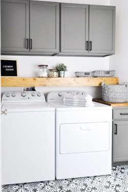 Trend small laundry room design ideas that you can try 17