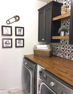 Trend small laundry room design ideas that you can try 19
