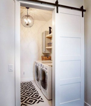 Trend small laundry room design ideas that you can try 24