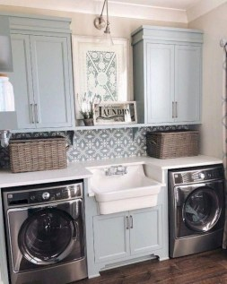 Trend small laundry room design ideas that you can try 38