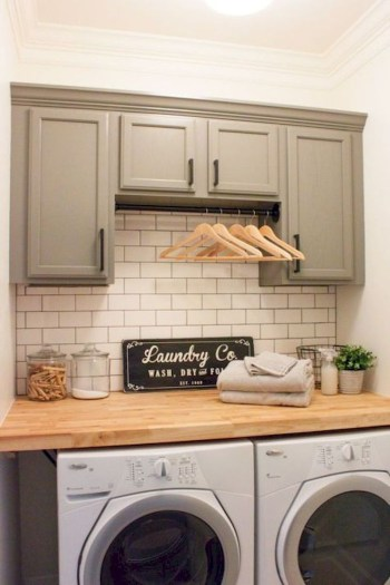 Trend small laundry room design ideas that you can try 41