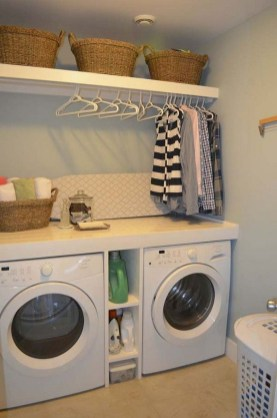 Trend small laundry room design ideas that you can try 43